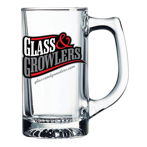 53329 Sport Mug 12.5 oz Customized Beer Mug sold by Glass and Growlers