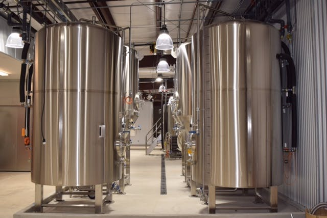 30bbl BBT Bright tank sold by Agile Stainless LLC