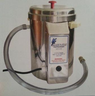 2 Gallon Batch Pasteurizer Pasteurizer sold by Bob-White Systems