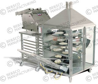 Grandemax Flour Tortilla Machine Tortilla press sold by BE&SCO