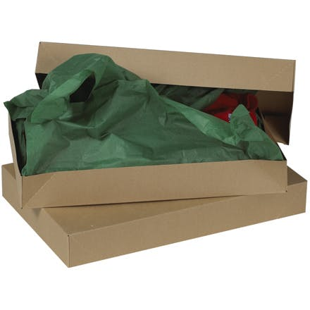 Kraft Apparel Boxes Kraft packaging sold by Ameripak, Inc.