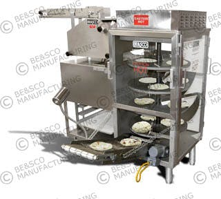 Beta 900 Electric Flour Tortilla Machine Tortilla press sold by BE&SCO