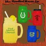 Mason Jar Plastic jar sold by 1 Custom Promotions