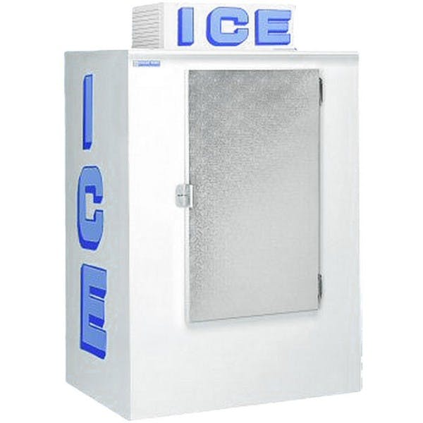 42 cu. ft. Outdoor Auto Defrost Ice Merchandiser w/ Solid Door