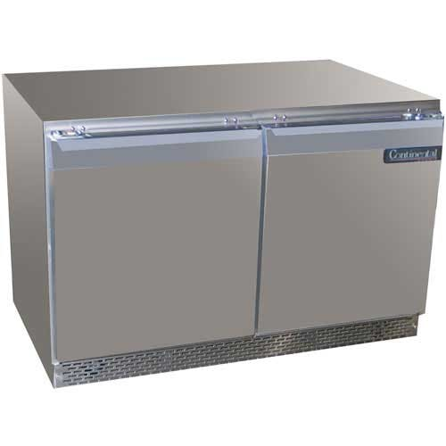 "Continental Refrigerator ( DLUCF48-SS ) - 48"" Undercounter Freezer Commercial freezer sold by Food Service Warehouse"