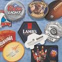 Pulpboard Drink Coaster - Drink coaster sold by Worldwide Ticket and Label