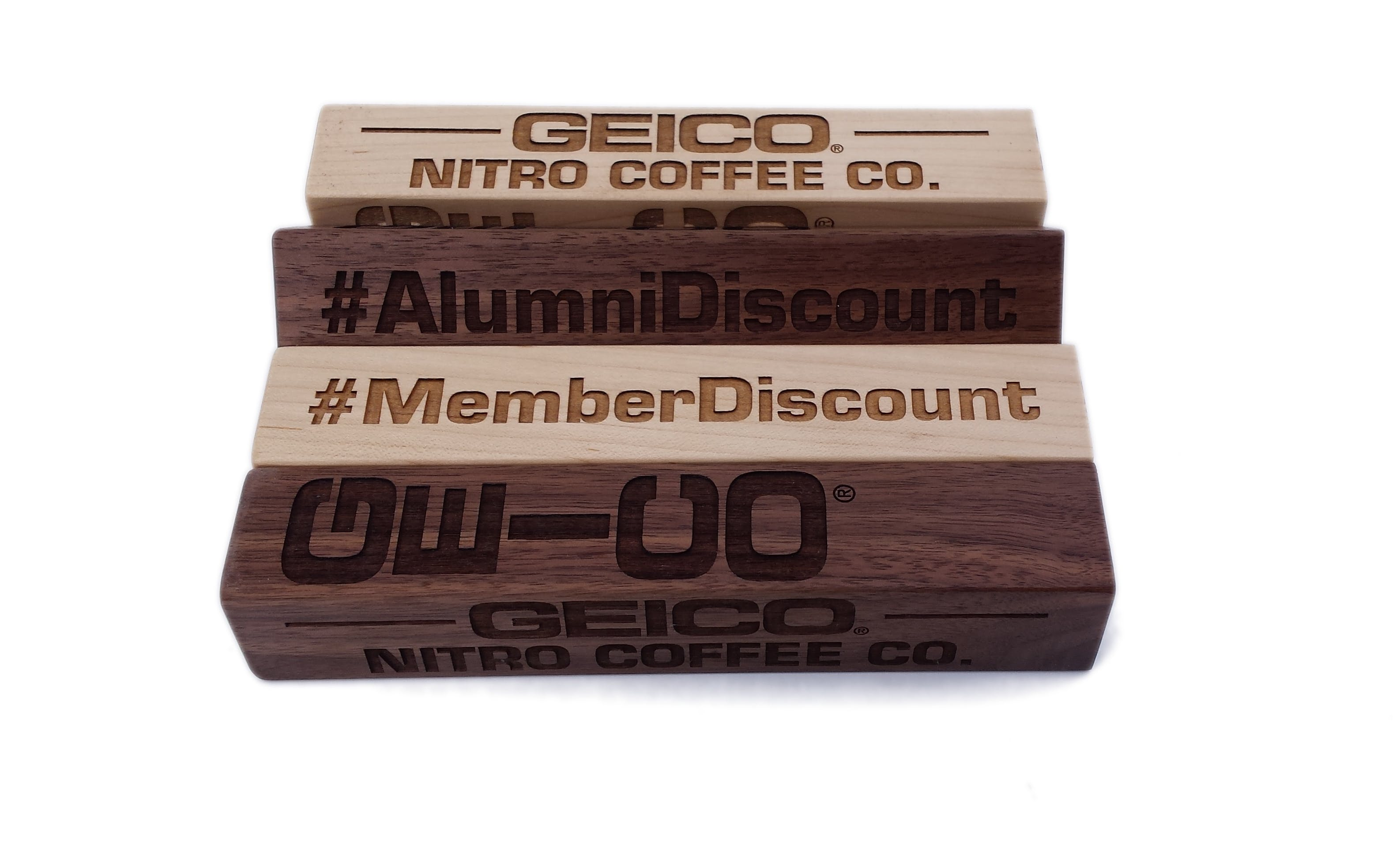 Square tap handles - sold by Hannison Woodworks, LLC