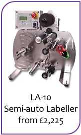 Bottle Labelers - sold by Liquid Solutions
