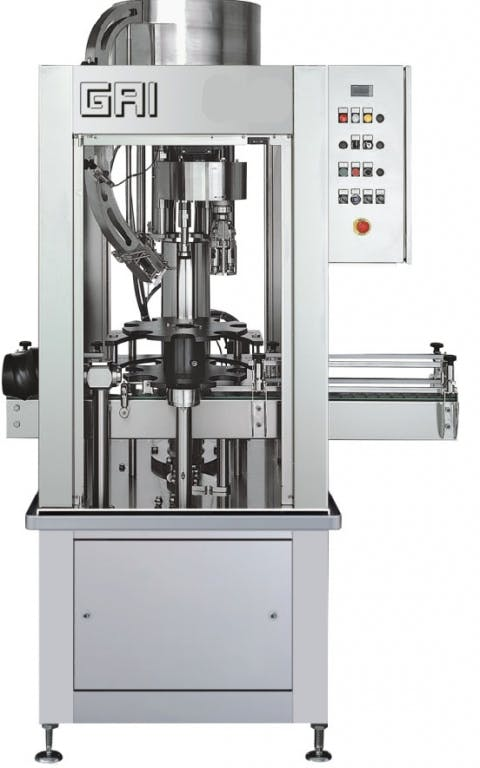 GAI 4210P Capping machines Bottle capper sold by Prospero Equipment Corp.