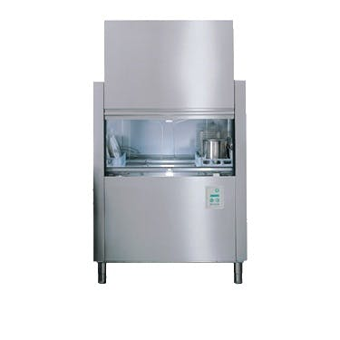 Jet-Tech FX-44 Single Tank Conveyor Dishwasher (up to 2,350 dishes per hour) Commercial dishwasher sold by pizzaovens.com