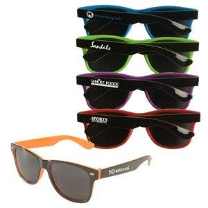 Two-Tone Sunglasses (Item # UHIMO-JVPQH) Custom sunglass sold by InkEasy