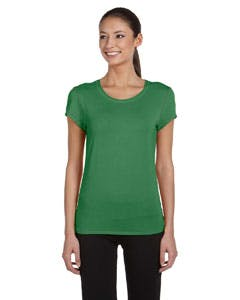 W1004 Alo Sport Ladies' Bamboo Short-Sleeve T-Shirt Promotional shirt sold by Lee Marketing Group