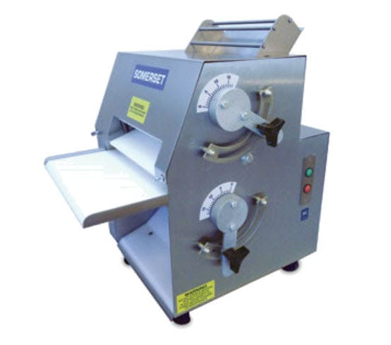 "Somerset CDR-1100 Compact Dough Sheeter/Roller (up to 11"" diameter) Dough sheeter sold by pizzaovens.com"