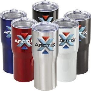 20 oz ArctixT Vacuum Tumbler Stainless steel mug sold by Ink Splash Promos, LLC