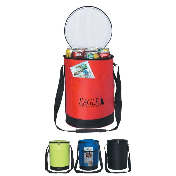 Round Kooler Bag Insulated cooler sold by MicrobrewMarketing.com