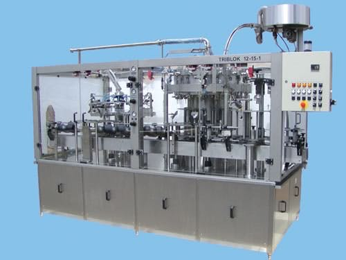 Rinser/Filler/Crowner Tribloc - sold by Moravek International Ltd