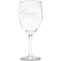 8 oz Wine Glass - Deep Etched