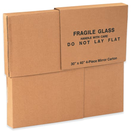 4-Piece Kraft Mirror Boxes