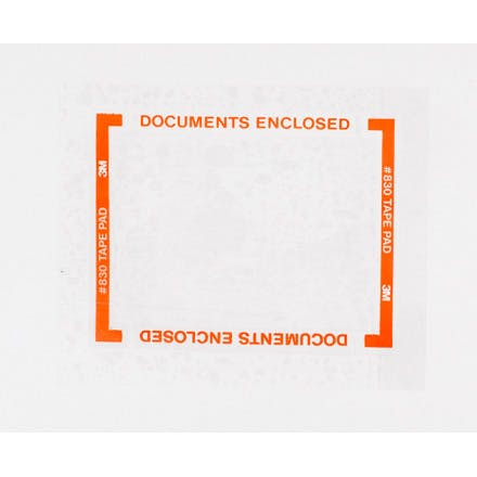 3M 830 Pouch Tape Pads Flat pouch sold by Ameripak, Inc.
