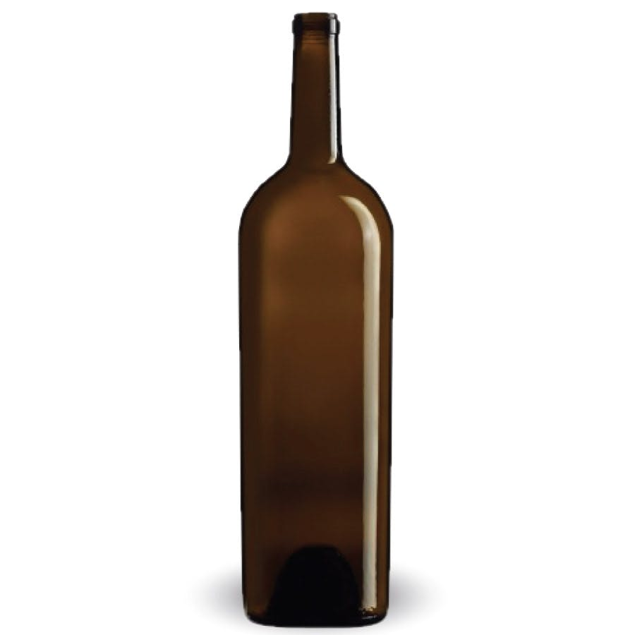 Bulk - Bordeaux Elegance - 1.5L - Antique Green - CARREE Wine bottle sold by BOTTLE EXPRESS LLC