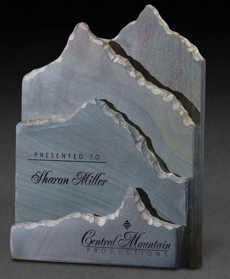 Slate Telluride Award sold by Distrimatics, USA