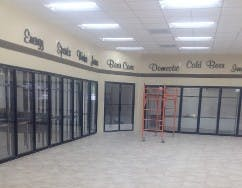 Glass Door Display Walk in cooler sold by Cooler Walk-In Doors