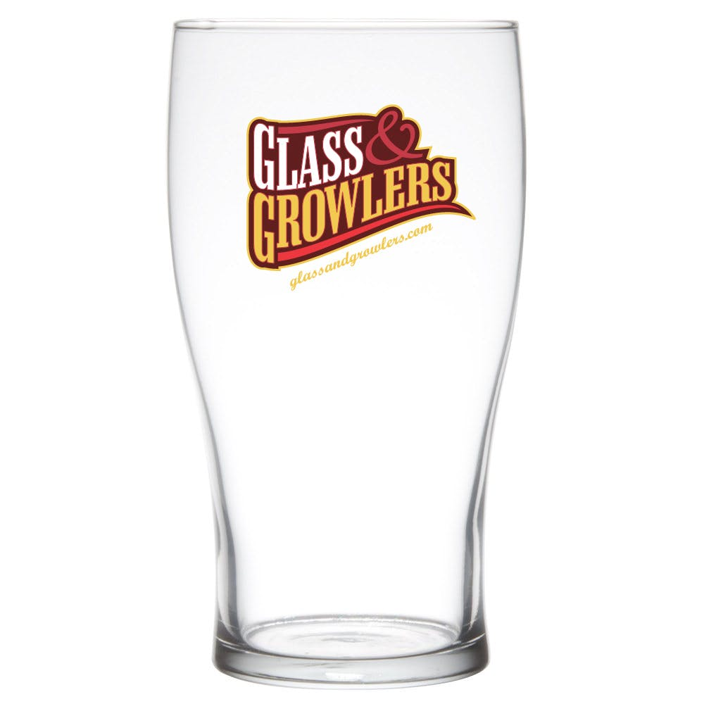 Pub Glass 20 oz Beer glass sold by Glass and Growlers