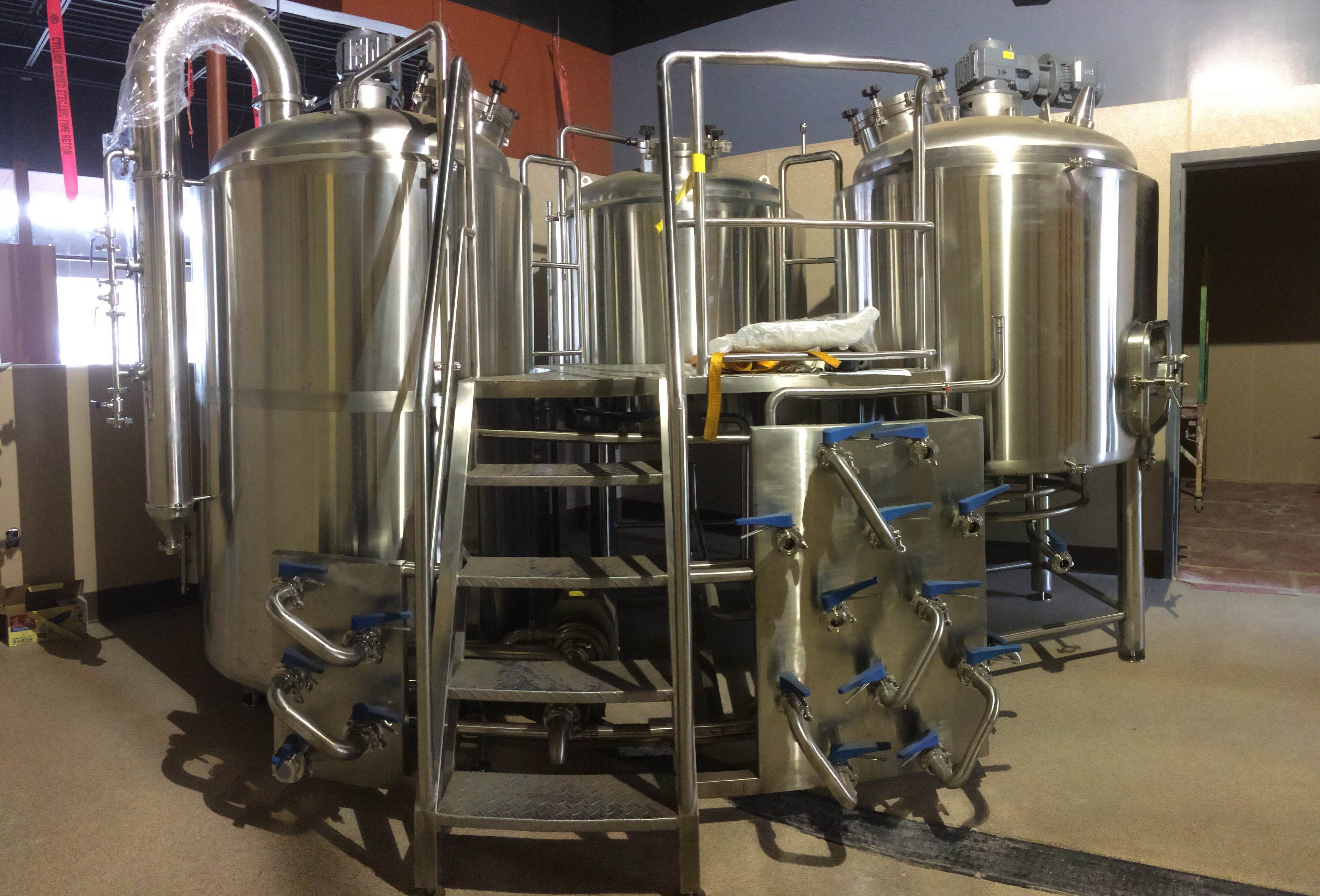 Custom Brewhouses - Steam/ DF-Indirect Fire/ Electric Brewhouse sold by Deutsche Beverage Technology