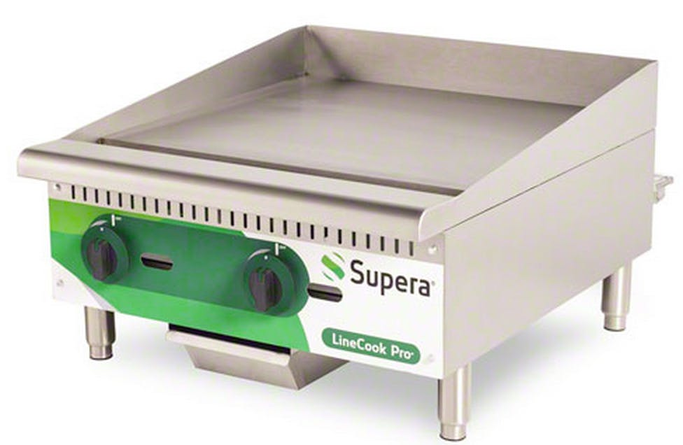 "Supera (LCG24-1) - LineCook Pro 24"" Gas Griddle Griddle sold by Food Service Warehouse"