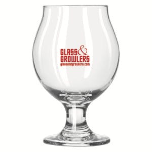 Belgian Beer 13 oz Glass Beer glass sold by Glass and Growlers