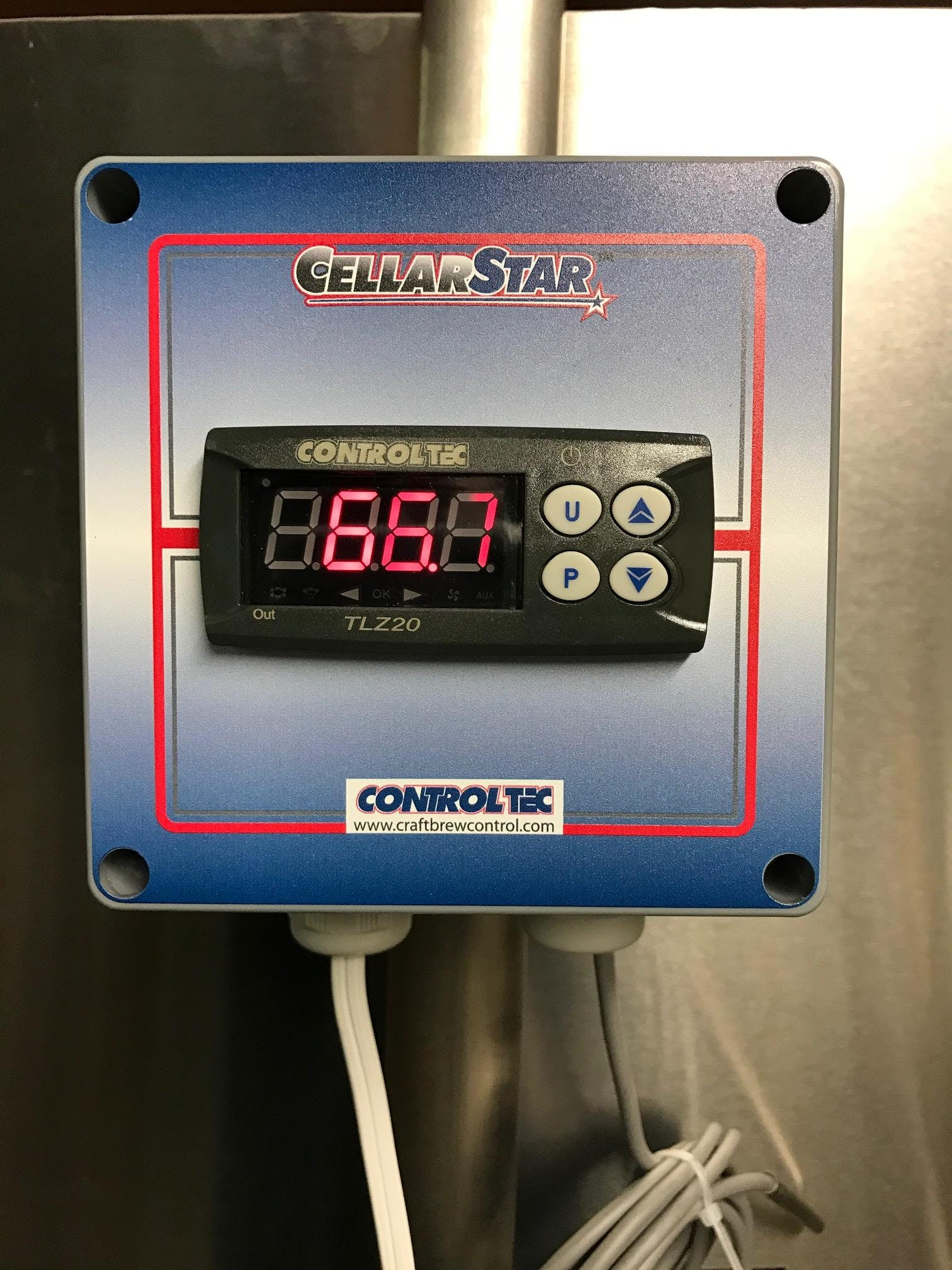 CellarStar - economy tank mounted control Control System sold by ControlTec, Inc