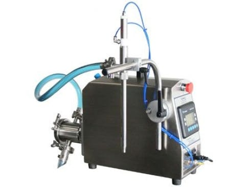 Single Head Semi-Automatic Pump Filler - Model TruPump-1S Bottle filler sold by ACASI Machinery