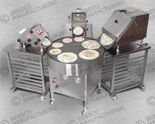 Rotomal Tortilla Grill - Model # 42 Tortilla press sold by BE&SCO