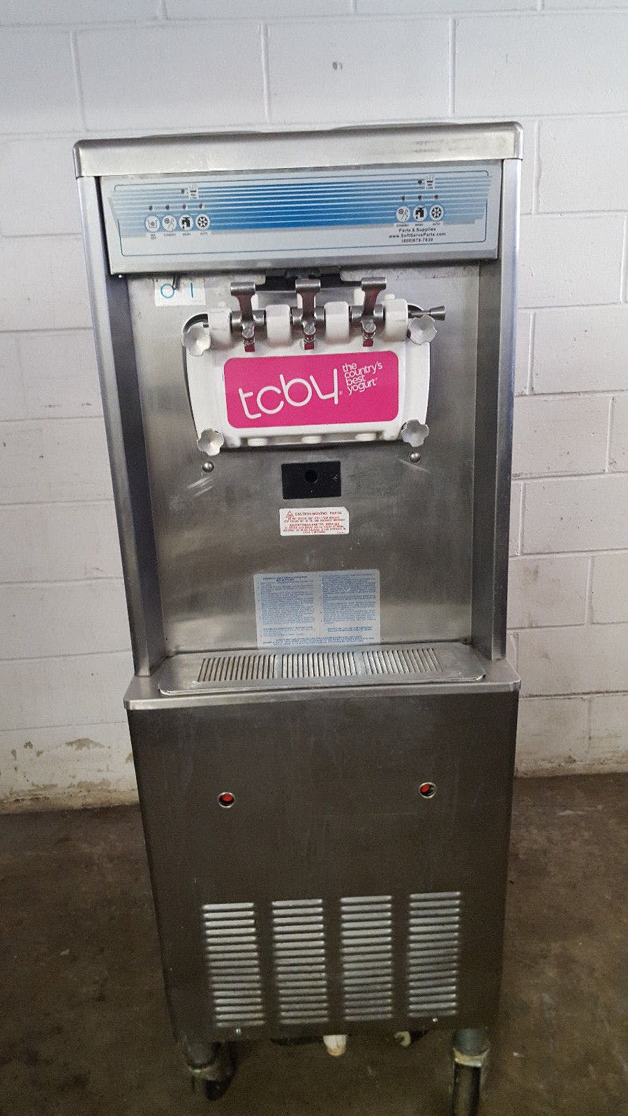 Taylor 794-27 Ice Cream Machine 2 Flavor Twist Water Cooled Tested 208-230v - sold by Jak's Restaurant Supply