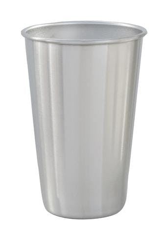 16 OZ. STAINLESS STEEL PINT #88-02 Stainless steel mug sold by Clearwater Gear