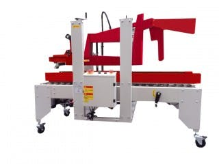 CE-558F Uniform Automatic Carton Sealer Case sealer/taper sold by Cleveland Equipment