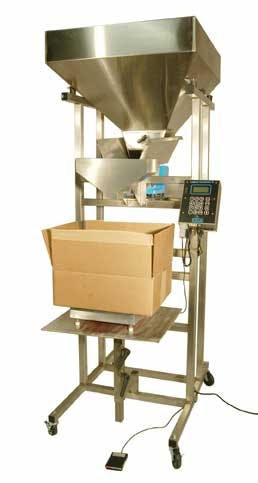 Weigh Fill System S5 Filling machine sold by Crystal Vision Packaging Systems