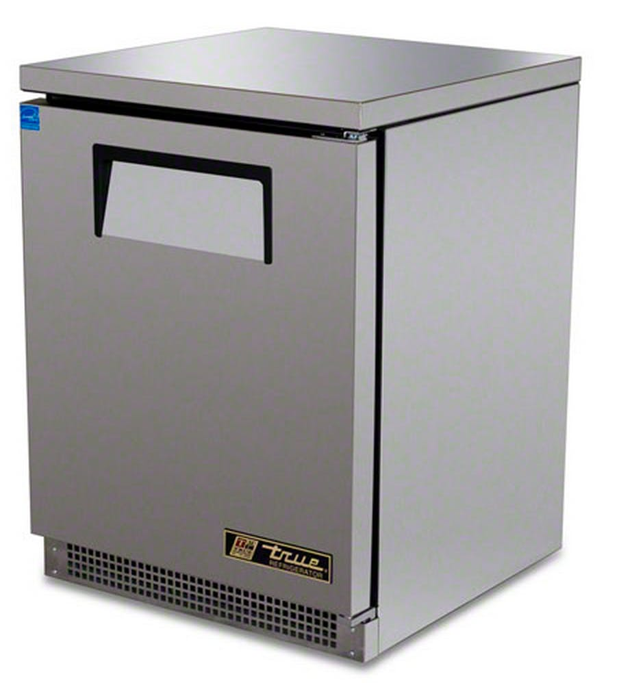 "True (TUC-24) - 24"" Solid Door Undercounter Refrigerator Commercial refrigerator sold by Food Service Warehouse"