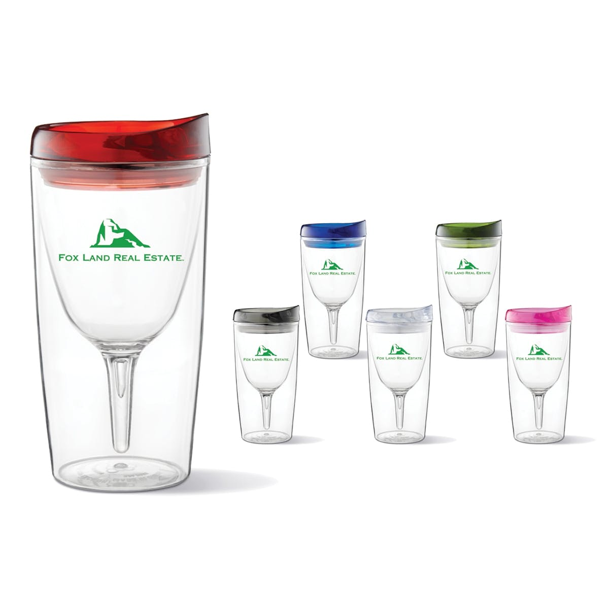 Wine Sippy Cup (Item # DANIS-JYWTN) Plastic cup sold by InkEasy