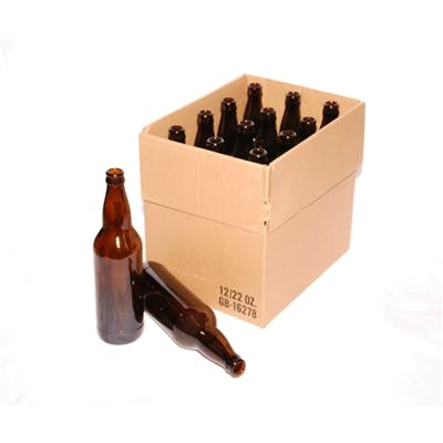 22oz Bomber Bottles in Cases Beer bottle sold by Buy Bulk Bottles