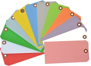 Colored Tags Hang tag sold by Smartsign
