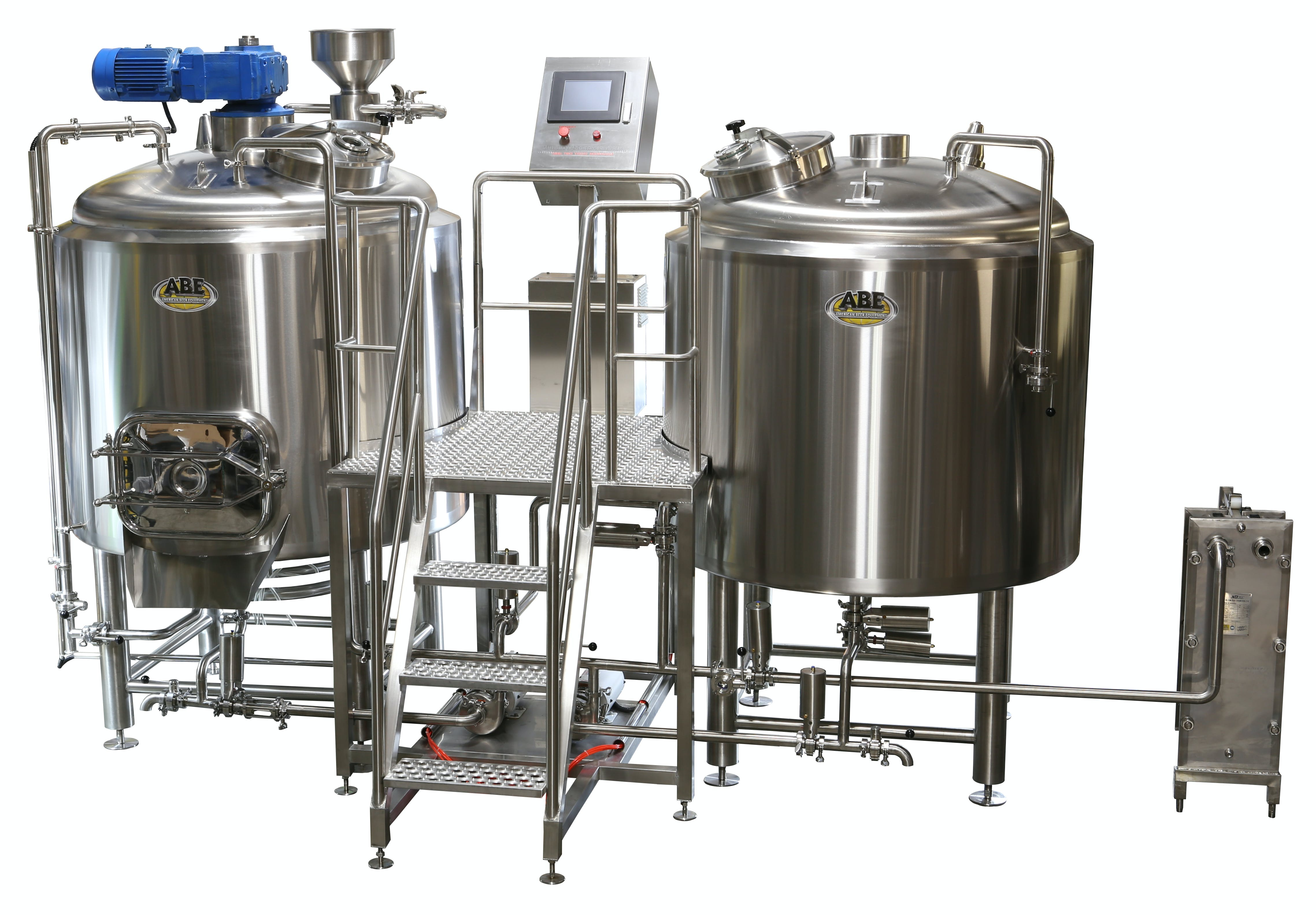 10 Bbl 2 Vessel Steam With Automated Features Steam