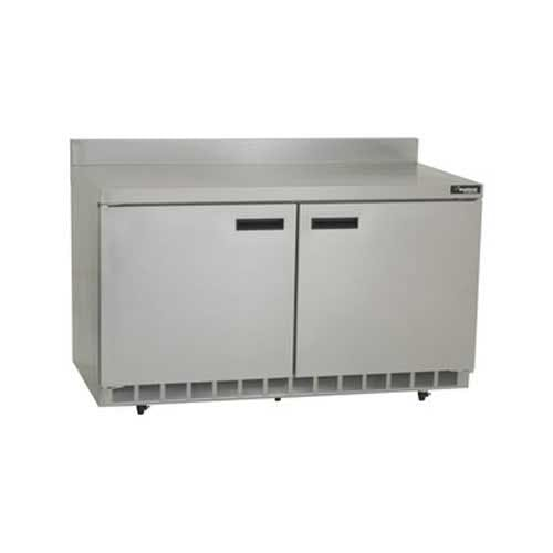 "Delfield - ST4464N 64"" Worktop Refrigerator w/Backsplash Commercial refrigerator sold by Food Service Warehouse"