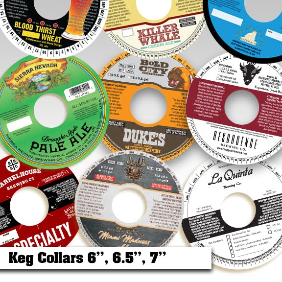 Keg Collars Keg collar sold by Creative Composition, Inc.
