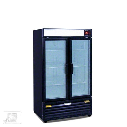 "Metalfrio - REB18 36"" Upright Beverage Cooler Commercial refrigerator sold by Food Service Warehouse"