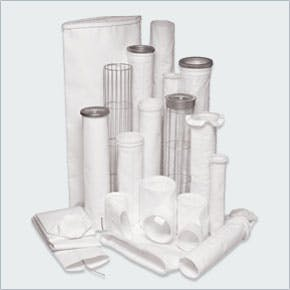 Baghouse bags and cages Cartridge filter sold by EAS Corp