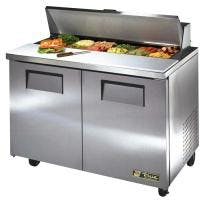"True TSSU-48-12 - 48"" 12 Bin Sandwich/Salad Prep Table Food prep table sold by Prima Supply"