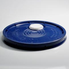 5 gal. Blue HDPE Pour Spout Pail Covers (#217423) - sold by Berlin Packaging