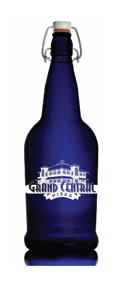 1L Cobalt EZ-Cap Growler sold by Strategic Manufacturing and Printing Solutions DBA Keyscaper