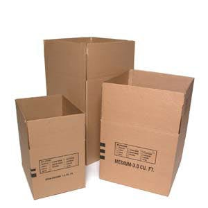 Moving Corrugated Boxes Custom box sold by Ameripak, Inc.